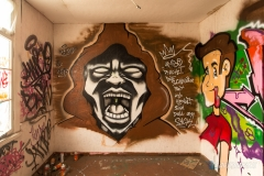 Street Art - Brown Mask
