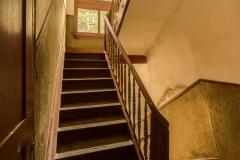 Unbekannte Treppe