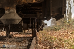 Unter dem Zug