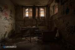 Wohnzimmer im Keller