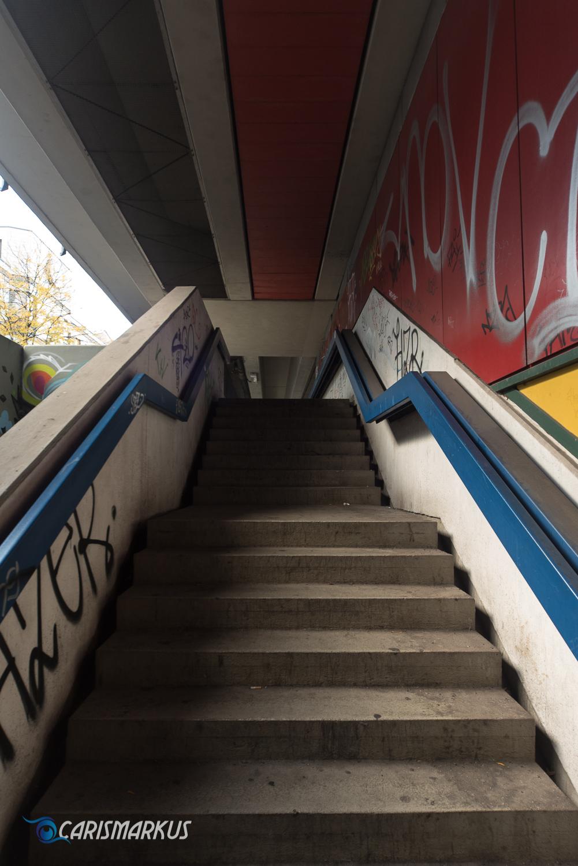 Bierpinsel Treppe