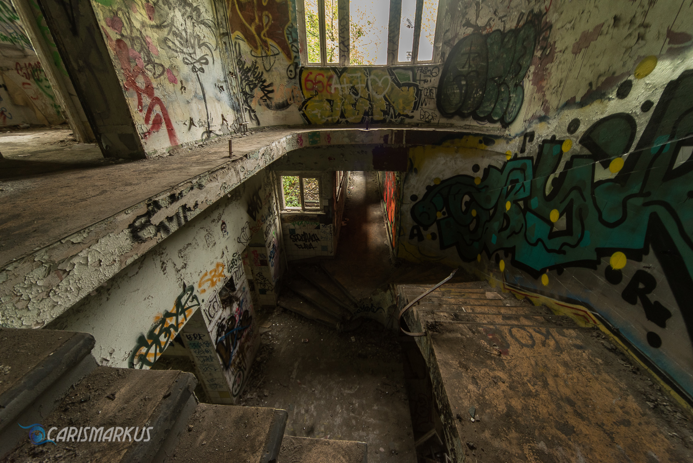 Treppenflucht