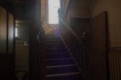 Dyanes Treppenhaus ... und Klo