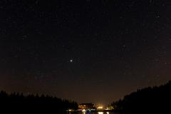 Mummelsee bei Nacht