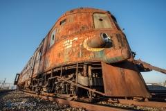 Orient Express im Sonnenschein