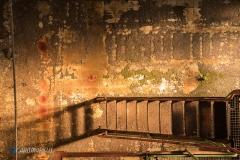 Lichtspiel mit Treppe