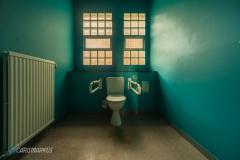 Blaueste Toilette
