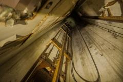 Aufzugsschacht