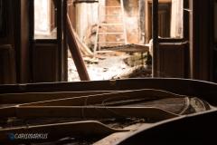 Tiefergelegtes Klavier