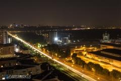 Kiew bei Nacht